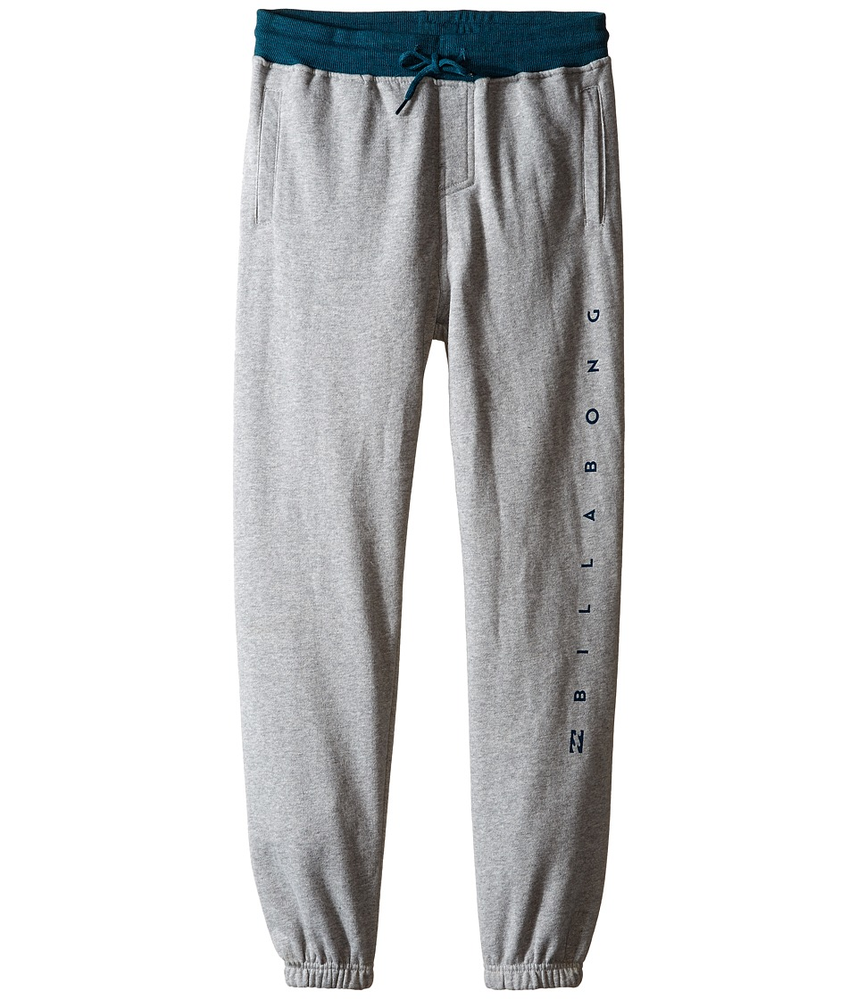 Billabong Kids - Pathfinder Cuffed Pants (Big Kids) (Grey Heather) Boy's Casual Pants