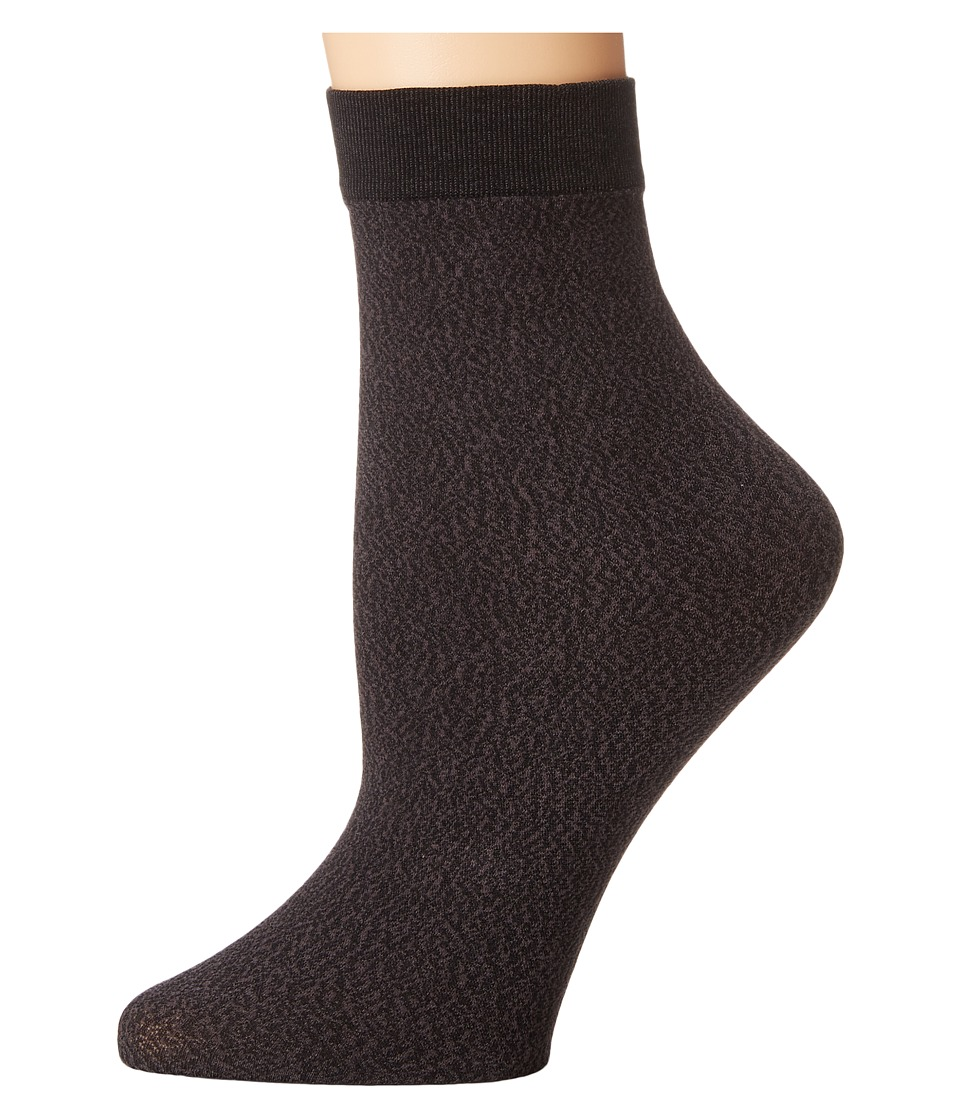 Wolford - Alisa Socks (Black) Women's Crew Cut Socks Shoes
