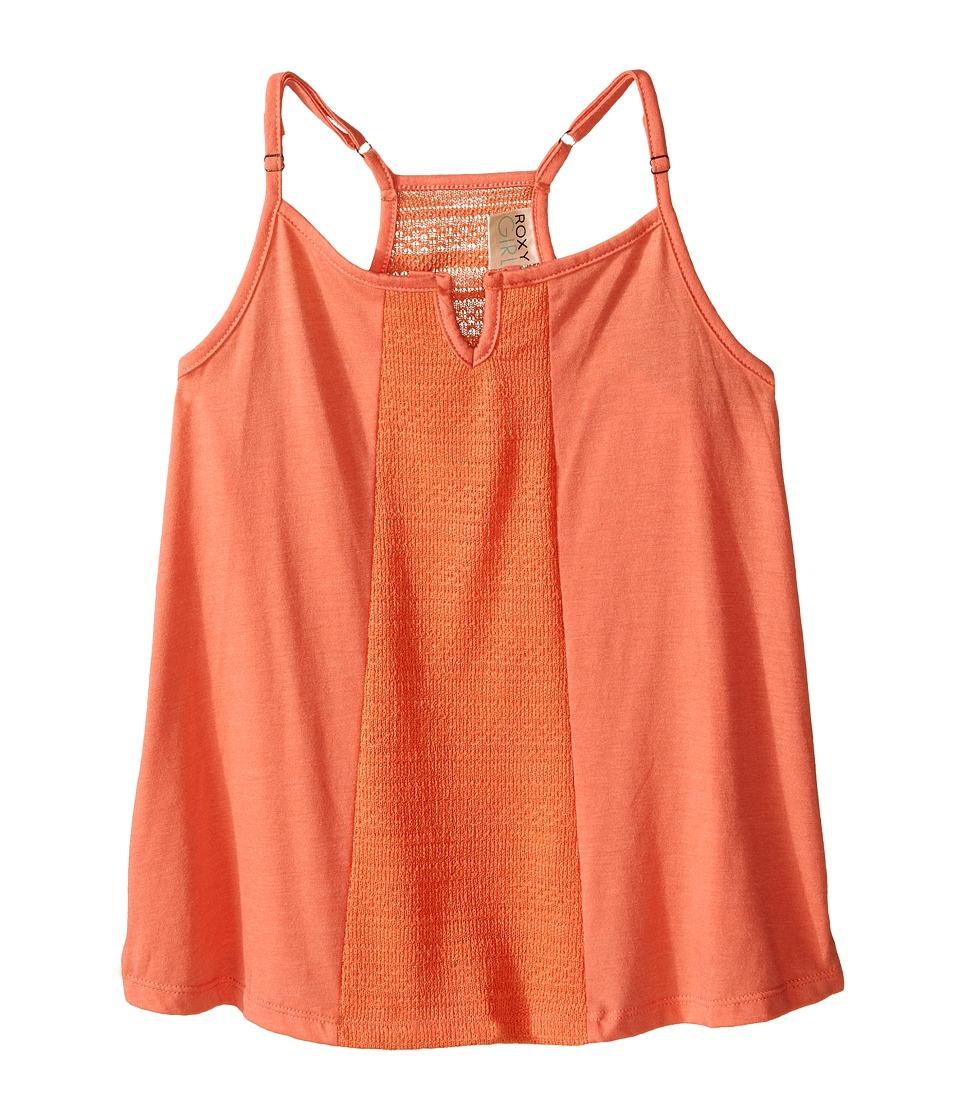 Roxy Kids - Cali Girl Top (Big Kids) (Living Coral) Girl's Clothing
