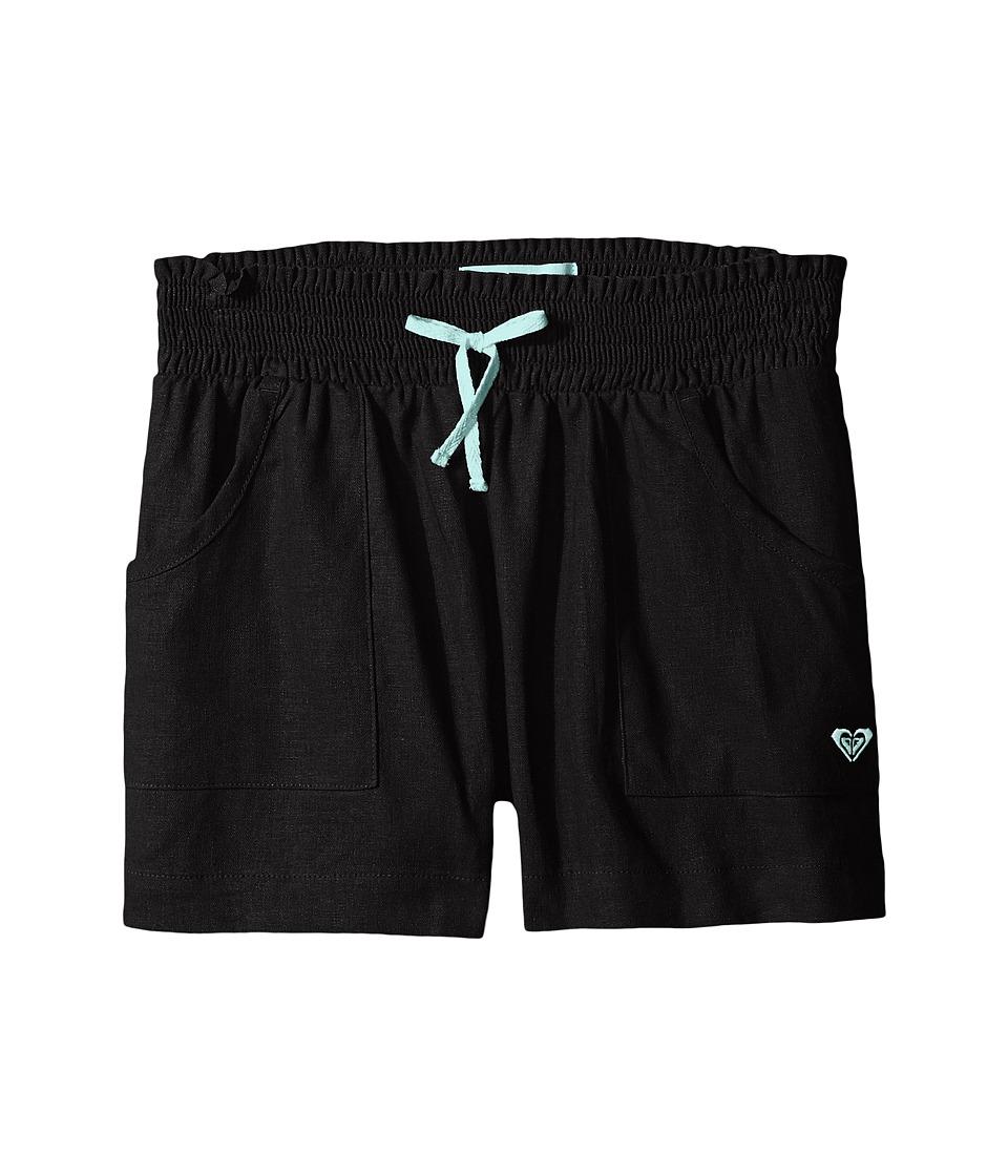 Roxy Kids - Beach Comber Shorts (Big Kids) (Black) Girl's Shorts