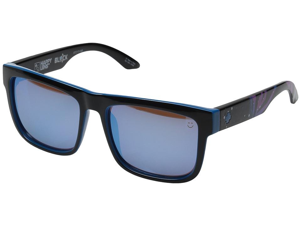 Spy Optic - Cyrus Livery (Happy Bronze/Light Blue Spectra) Sport Sunglasses