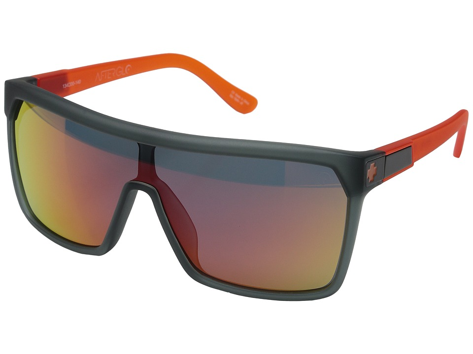Spy Optic - Flynn (Lava Flow/Gray/Orange Spectra) Sport Sunglasses