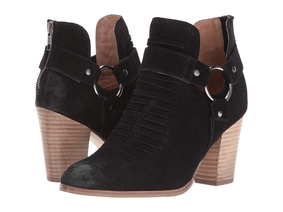 Seychelles Impossible (Black Suede) Women