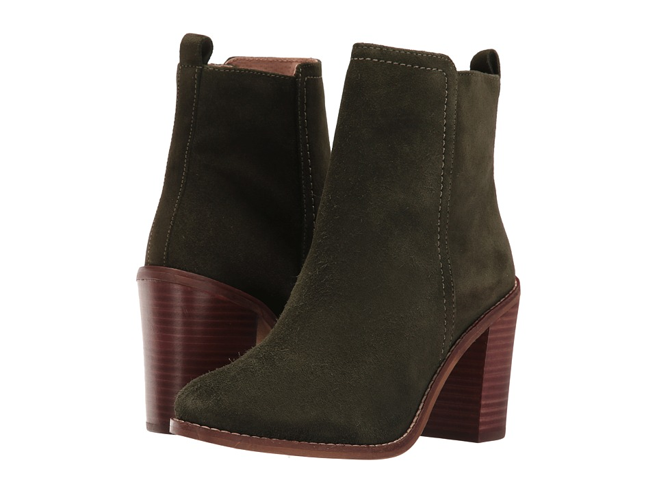 Seychelles - Lounge (Hunter Green Suede) Women's Boots