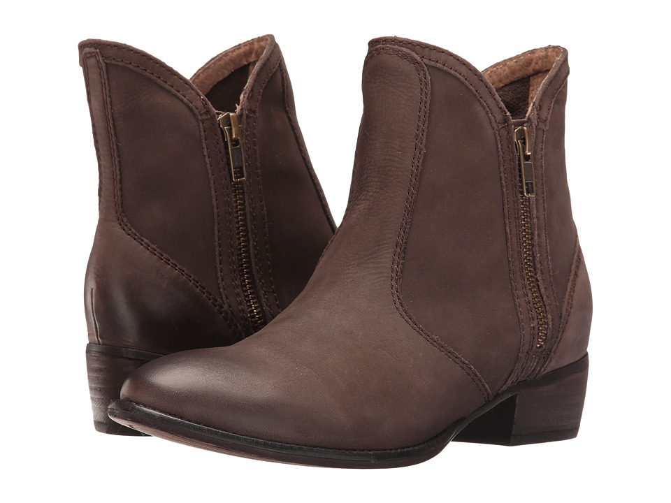 Seychelles Lucky Penny (Dark Brown Nubuck) Women