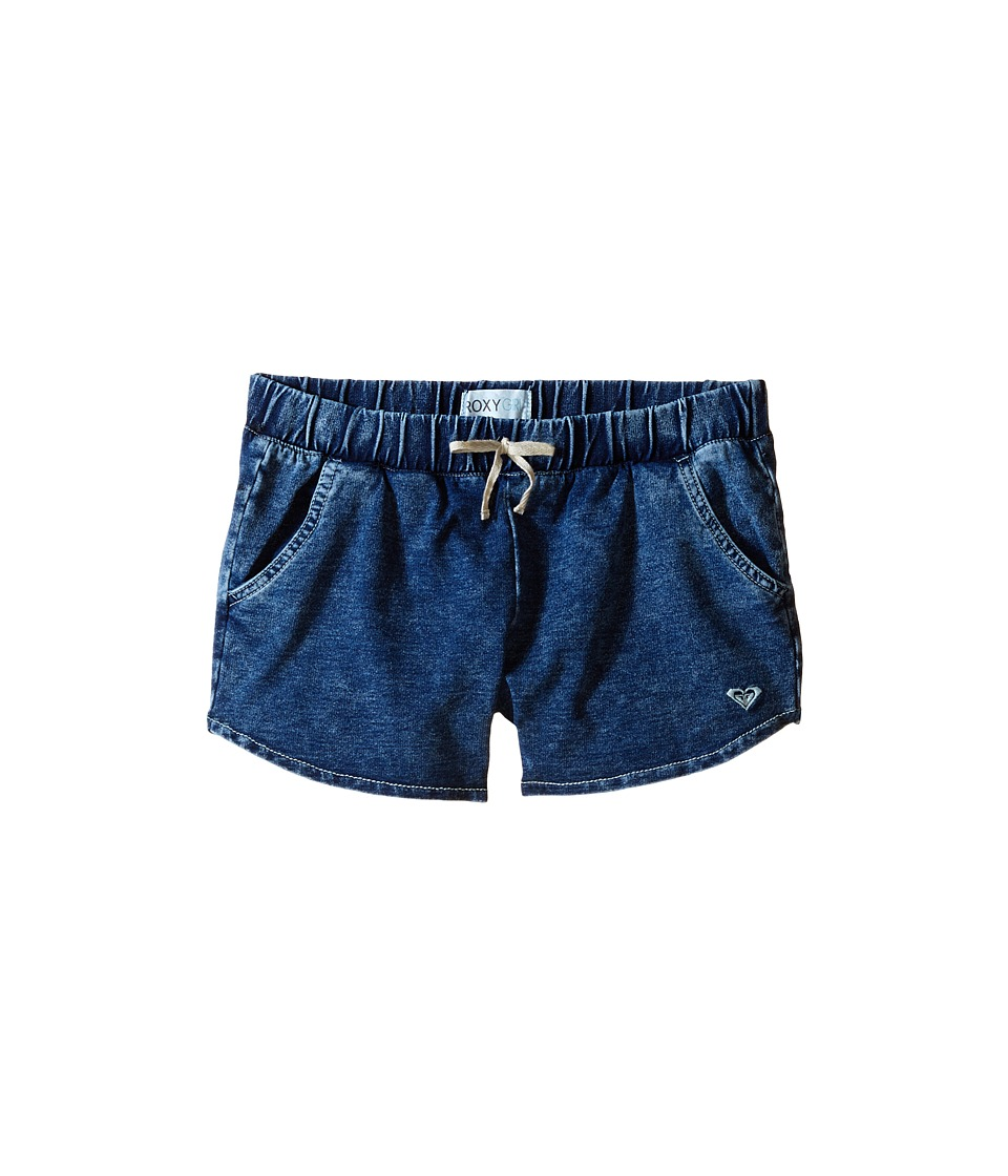 Roxy Kids - Iceland Shorts (Big Kids) (Light Wash) Girl's Shorts