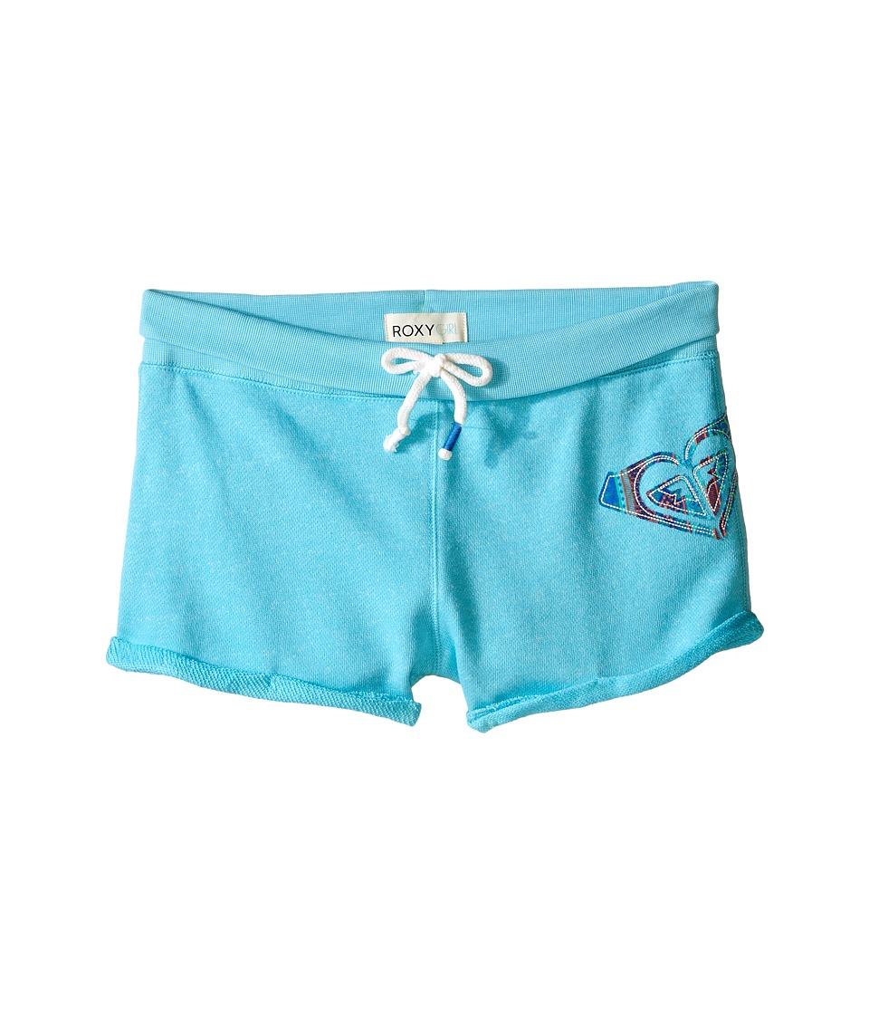 Roxy Kids - Playa Shorts (Big Kids) (Blue Curacao) Girl
