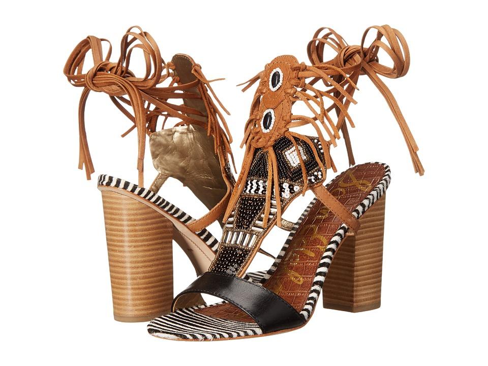 Sam Edelman - Yates (Black/Saddle) Women's Shoes
