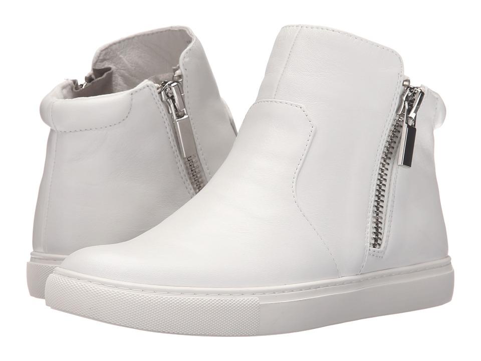 Kenneth Cole New York - Kiera (White) Women's Zip Boots