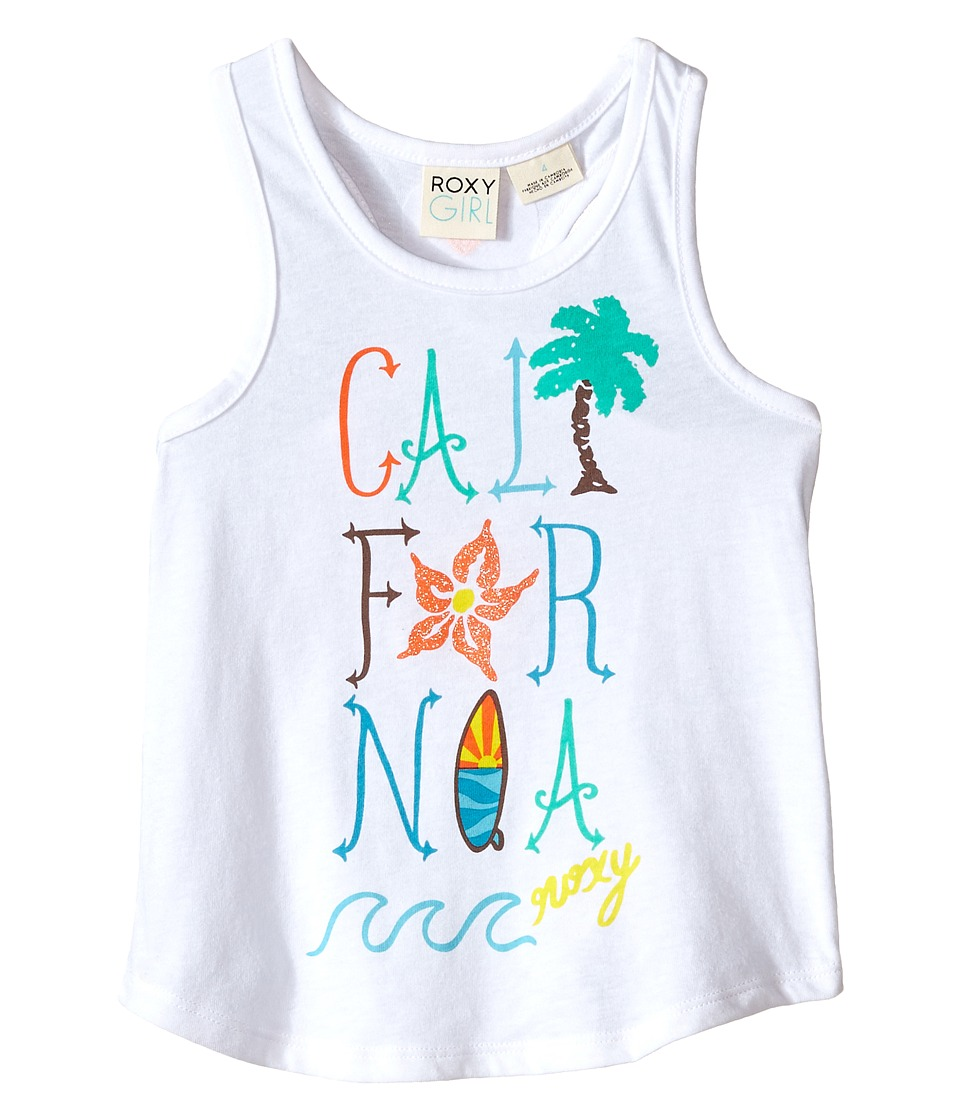 Roxy Kids - Cali Wave Tank Top (Toddler/Little Kids) (Seal Salt) Girl's Sleeveless