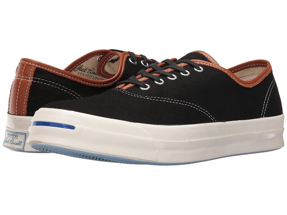 Converse - Jack Purcell Signature CVO Ox (Black/Antique Sepia/Egret) Men's Shoes