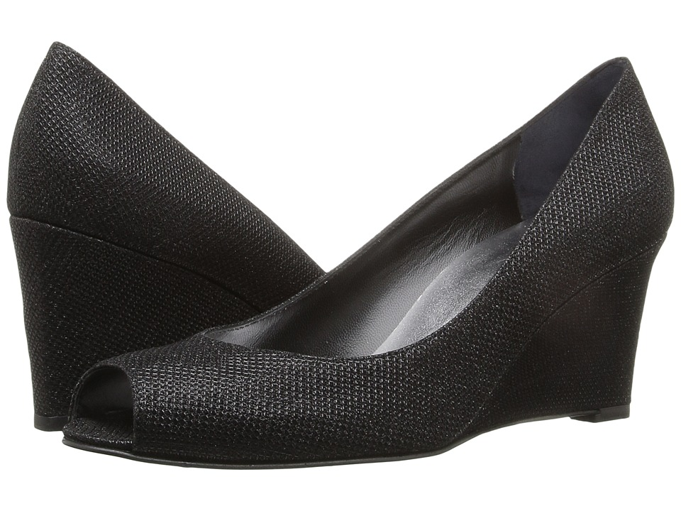 Stuart Weitzman - Annaform (Black Noir) Women's Shoes