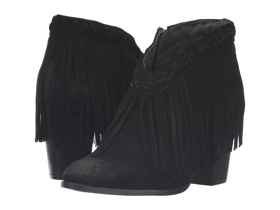 Seychelles - World Tour (Black Suede) Women's Boots