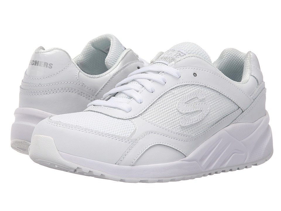 SKECHERS - OG 95 - Color Crew (White) Women's Lace up casual Shoes