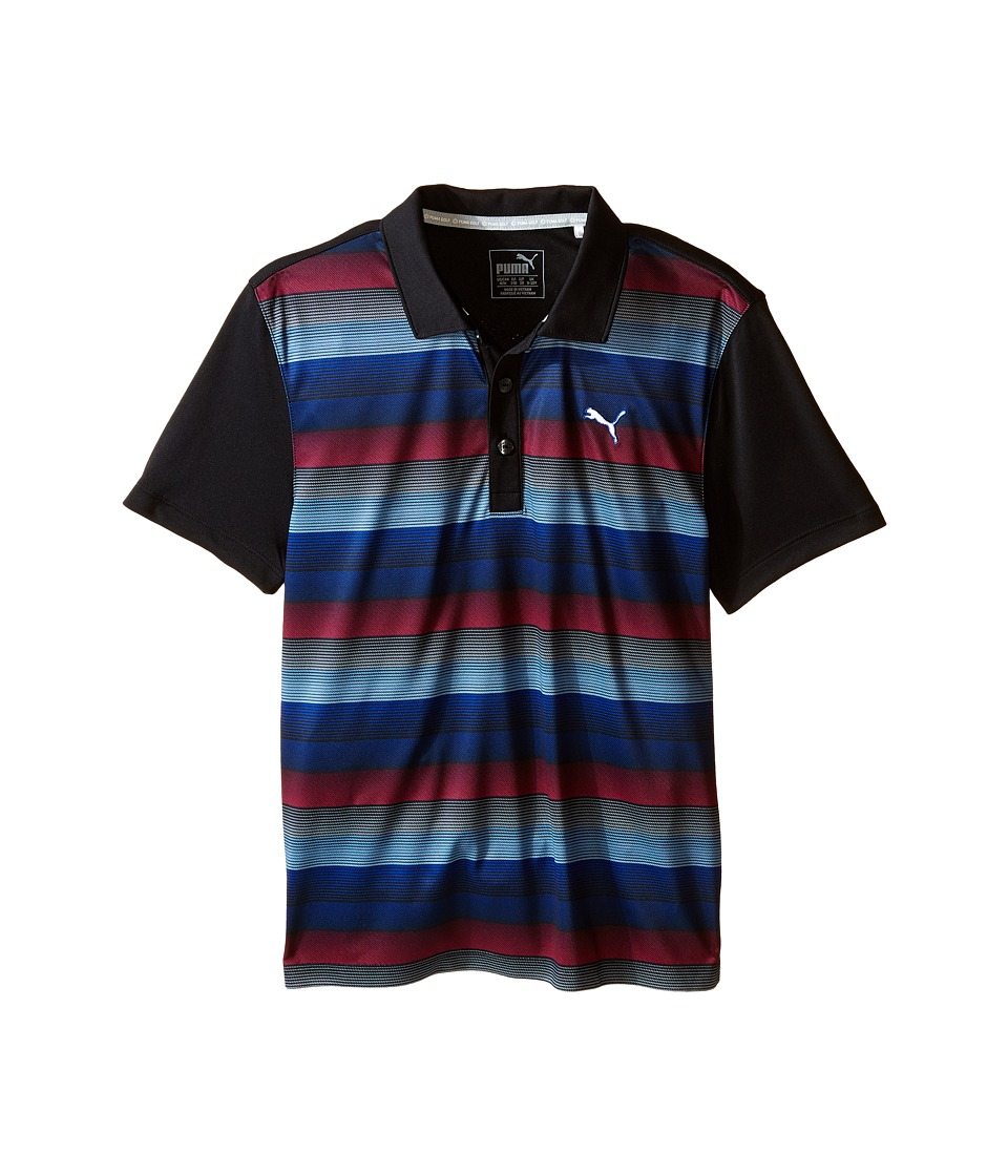 PUMA Golf Kids - Roadmap Polo JR (Big Kids) (PUMA Black) Boy's Short Sleeve Knit