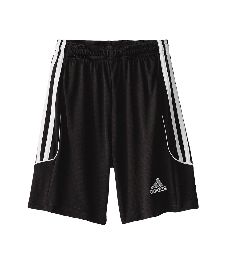 adidas Kids - Squad 13 Shorts (Little Kids/Big Kids) (Black/White) Kid's Shorts