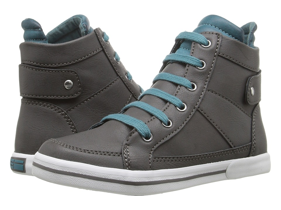 Elements by Nina Kids - Willie (Little Kid/Big Kid) (Grey) Boys Shoes