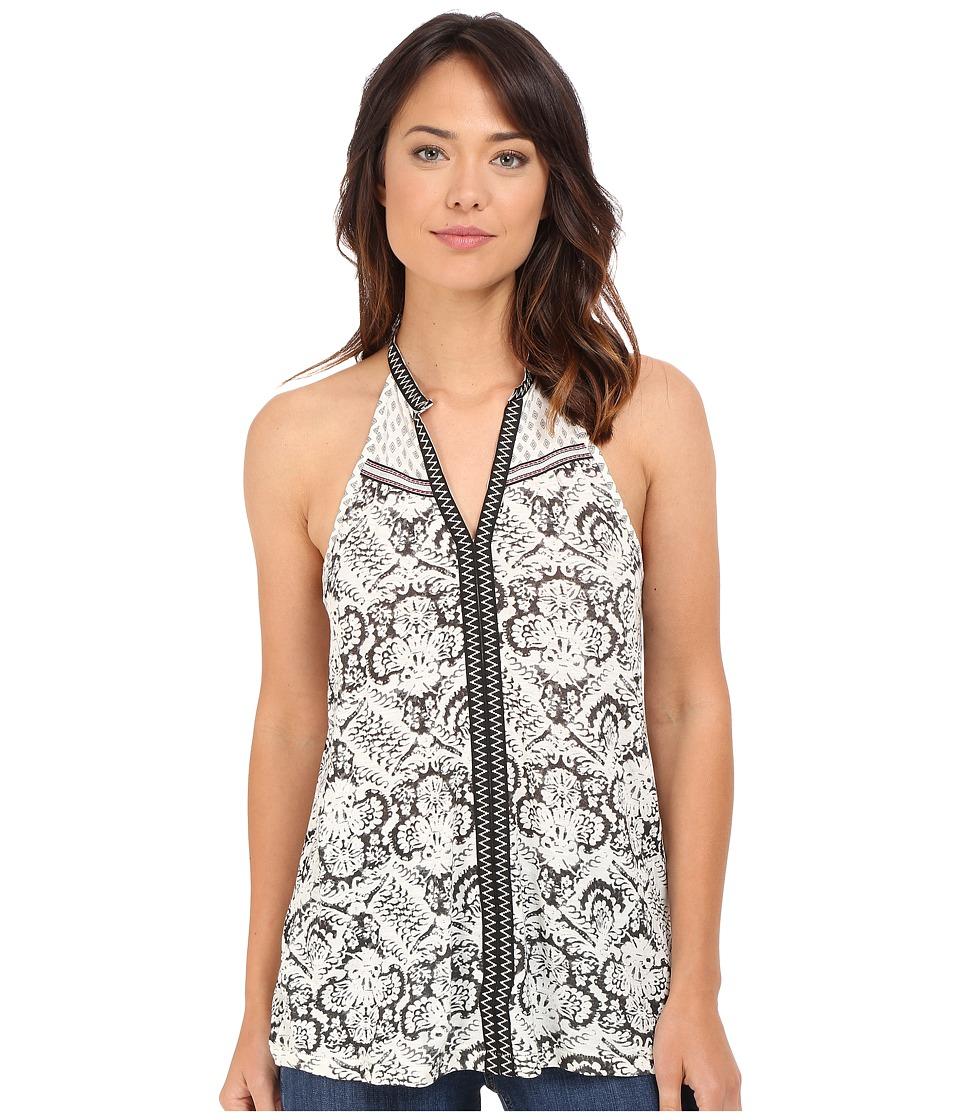 Brigitte Bailey - Damaris Sleeveless Printed Top (Grey) Women's Sleeveless