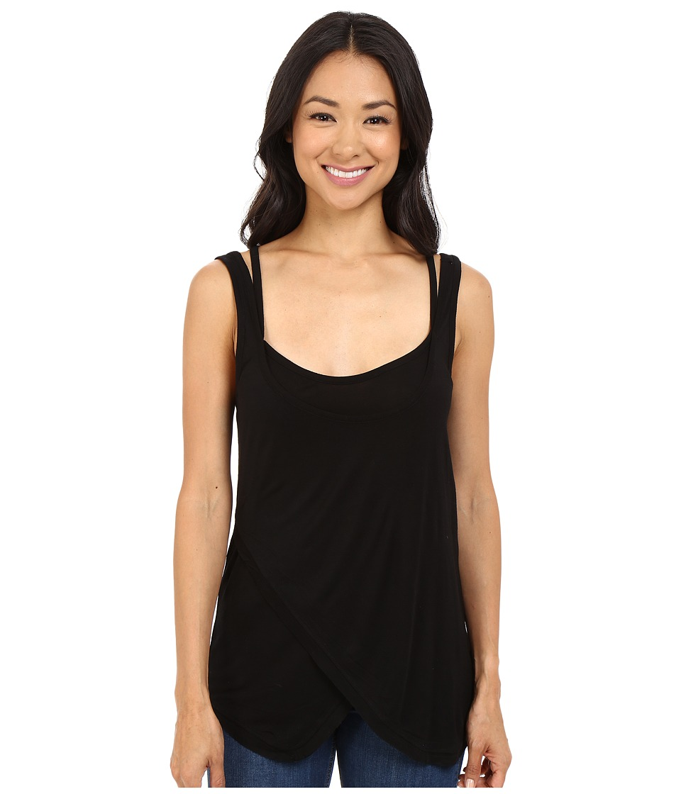 Brigitte Bailey - Addyson Tank Top (Black) Women's Sleeveless