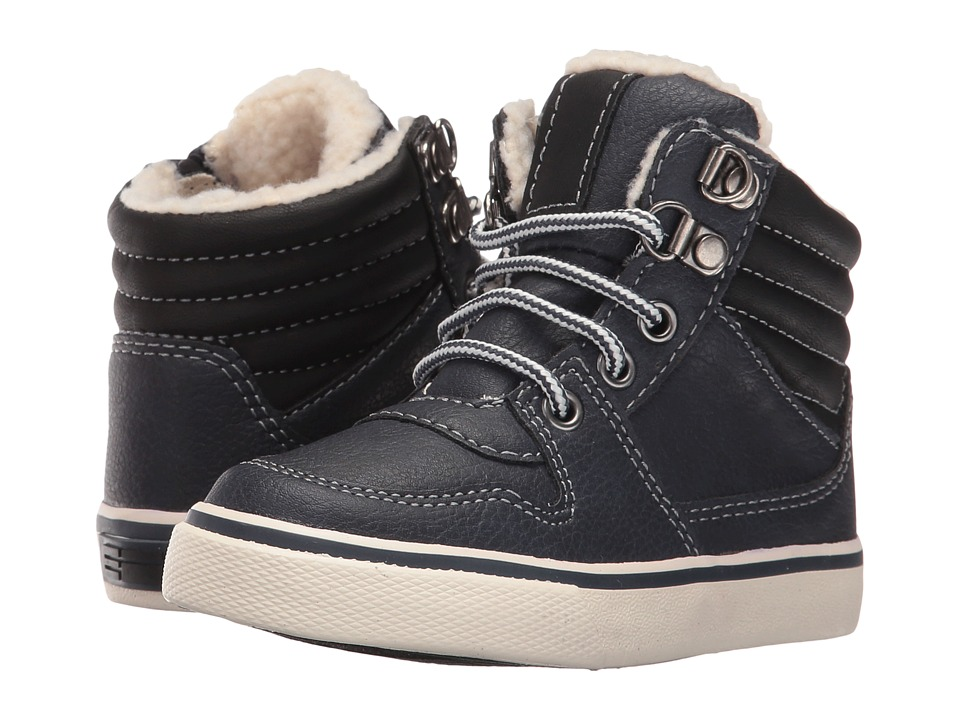 Elements by Nina Kids - Geoff (Toddler/Little Kid/Big Kid) (Navy) Boys Shoes