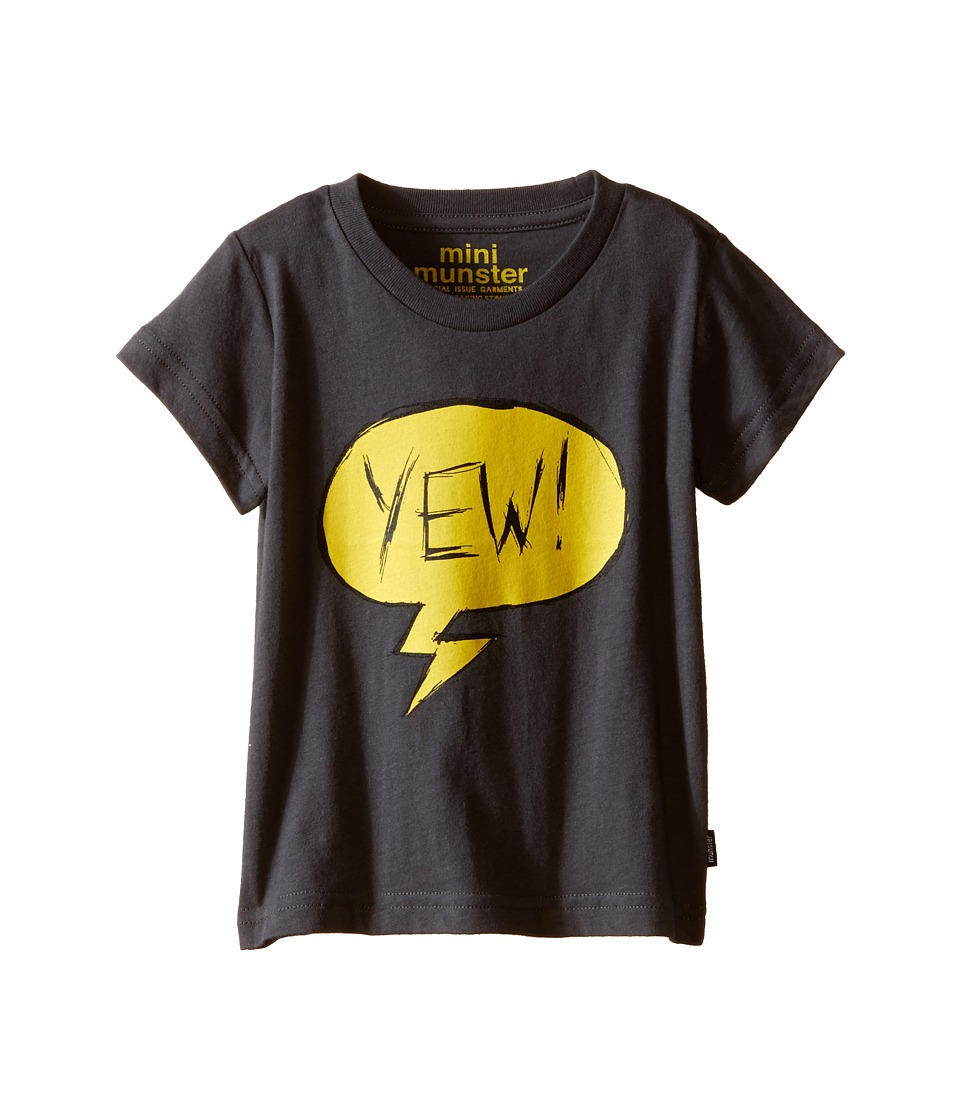 Munster Kids - Yewh Tee (Infant) (Charcoal) Boy's T Shirt