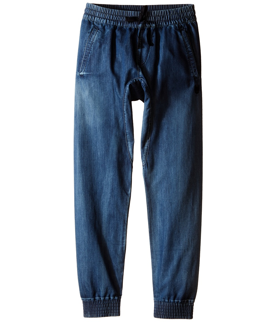 Munster Kids - Denim Cruz Pants (Big Kids) (Beaten Blue) Boy's Casual Pants