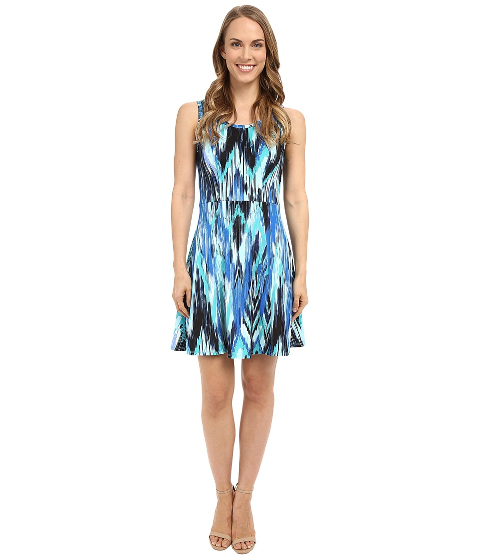 Karen Kane Fit and Flare Dress (Print) Women