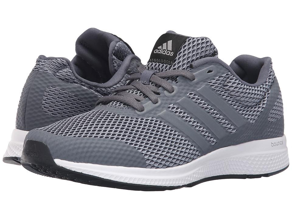 adidas Running - Mana Bounce (Grey/Silver Metallic/Black) Men's Running Shoes