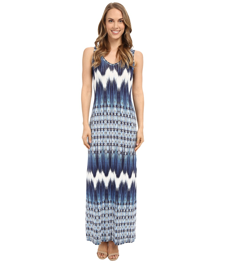 Karen Kane - Mixed Chevron Alana Maxi Dress (Print) Women's Dress