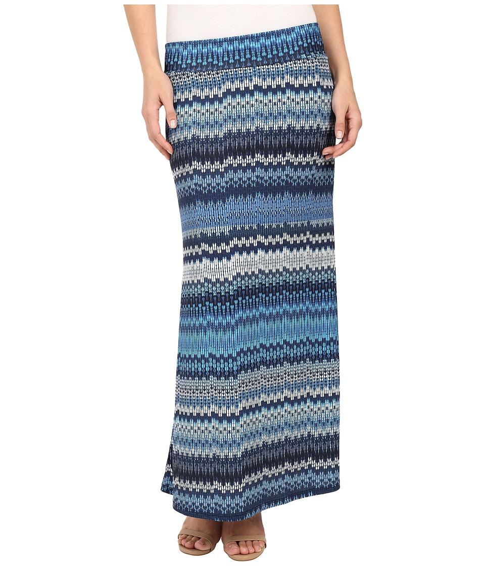 Karen Kane - Blue Mesa Maxi Skirt (Print) Women's Skirt