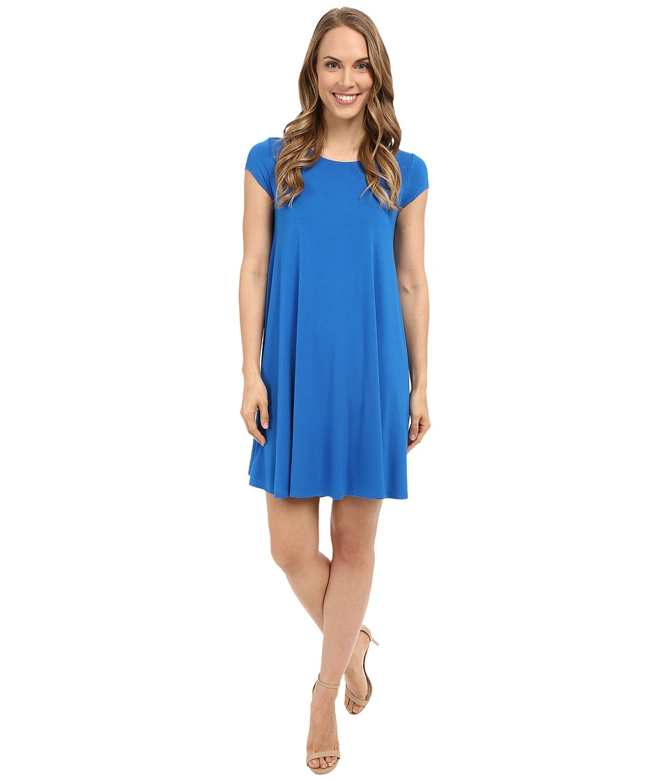 Karen Kane - Royal Blue Maggie Trapeze Dress (Royal) Women's Dress
