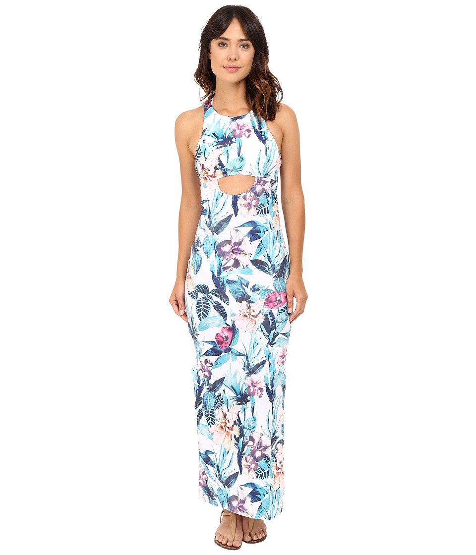 6 Shore Road by Pooja - 24 hr Maxi Dress Cover-Up (Colonial Floral) Women's Swimwear