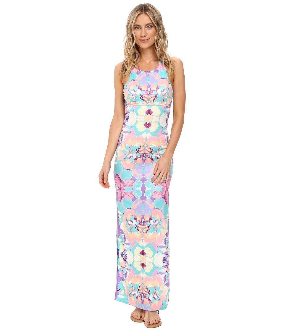 6 Shore Road by Pooja - Mid Day Maxi Dress Cover-Up (Floral Bazaar) Women's Swimwear