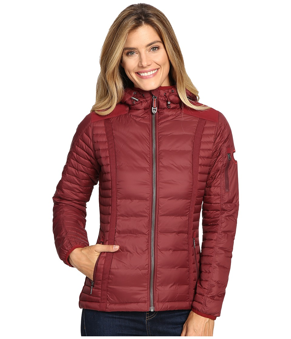 KUHL - Spyfire Hoodie (Cranberry) Women's Sweatshirt