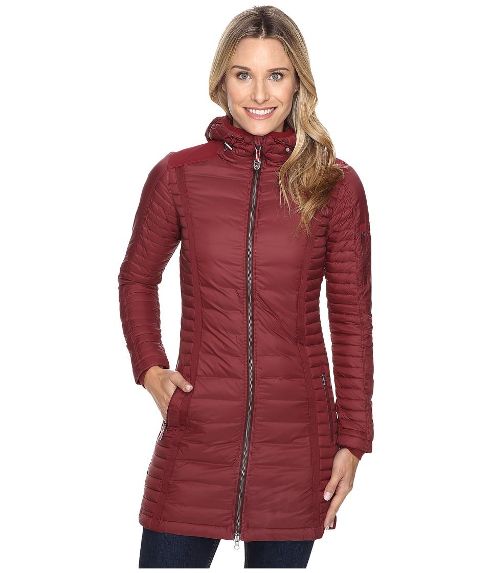 KUHL - Spyfire Parka (Cranberry) Women's Coat