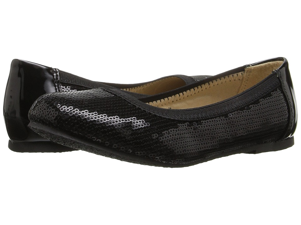 W6YZ - Toni II (Little Kid/Big Kid) (Black) Girls Shoes