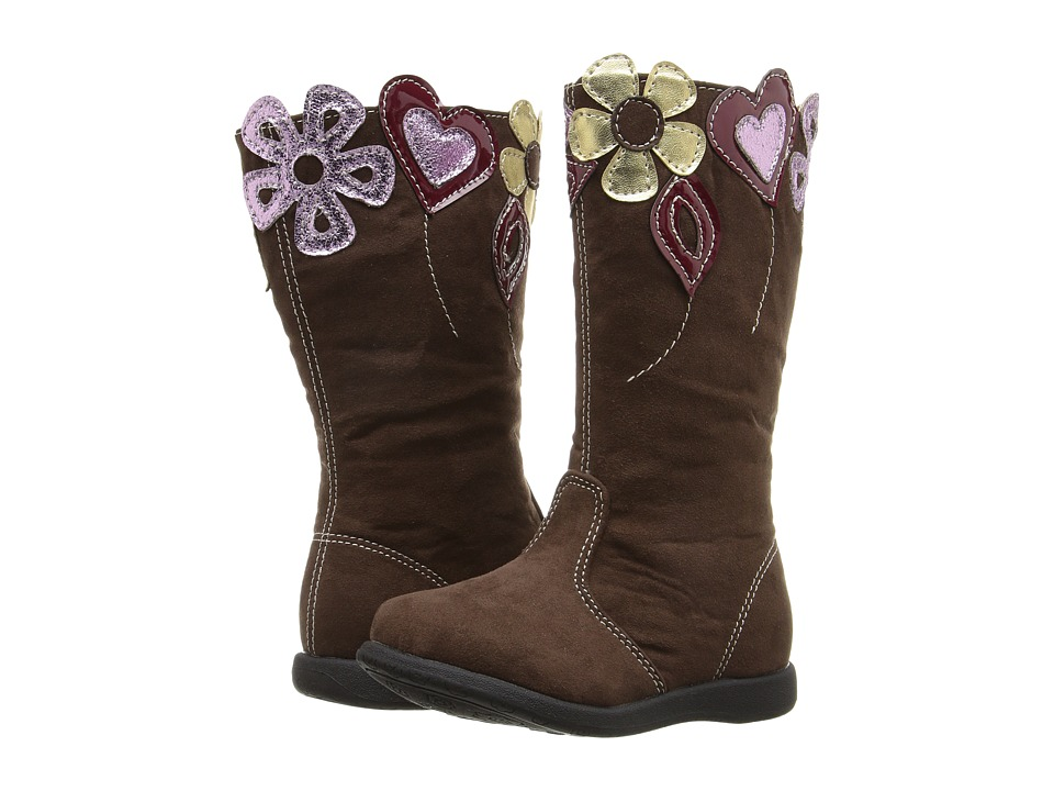 W6YZ - Betsy (Toddler/Little Kid) (Brown) Girls Shoes
