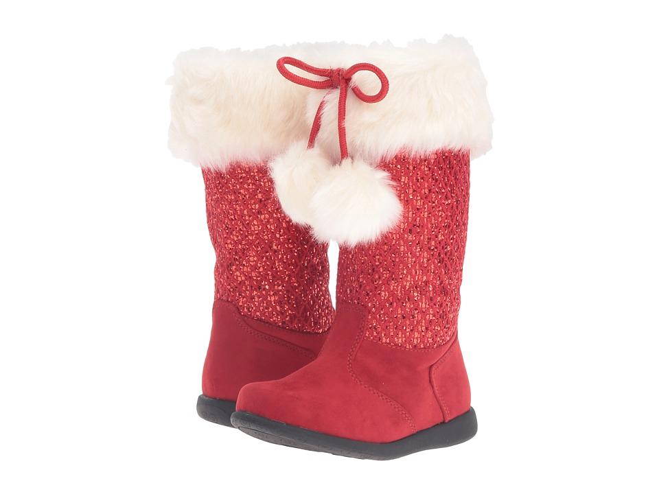 W6YZ - Jessie (Toddler/Little Kid) (Red) Girls Shoes