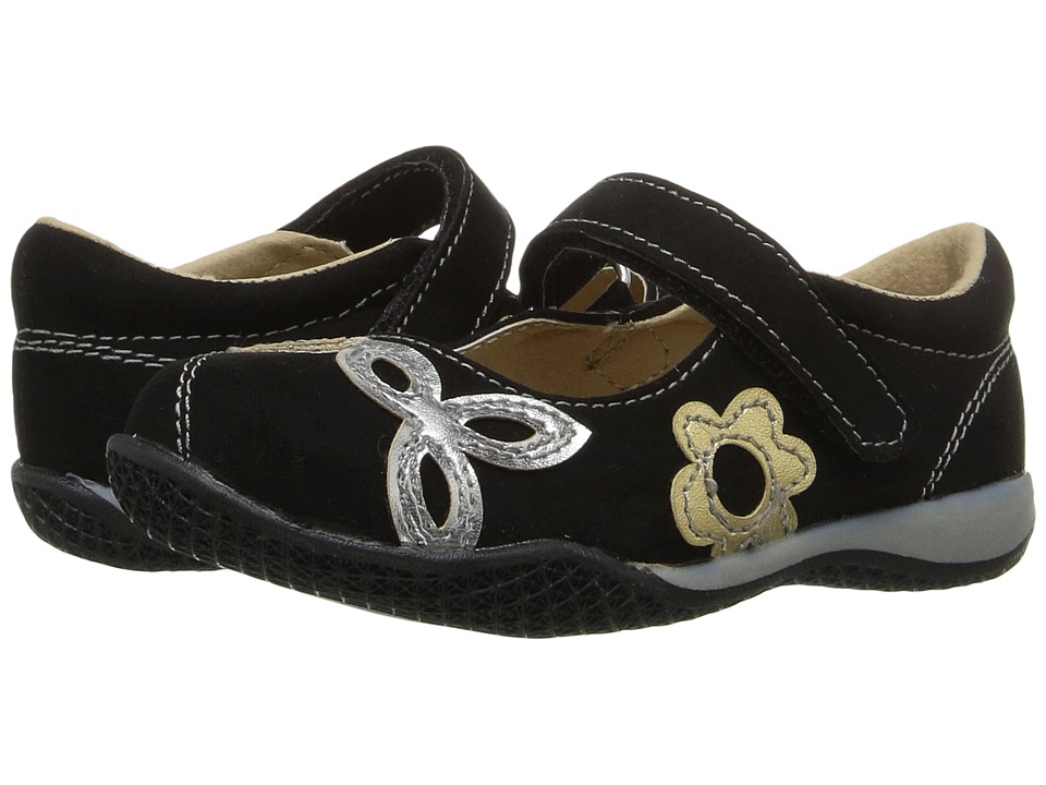 W6YZ - Itsy (Toddler/Little Kid) (Black) Girls Shoes