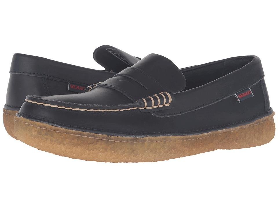 Sebago - Ronan Penny (Navy Leather) Men's Shoes