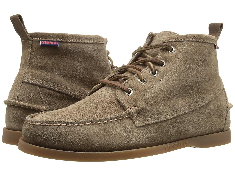 Sebago - Beacon Shearling (Dark Taupe Suede) Men's Shoes