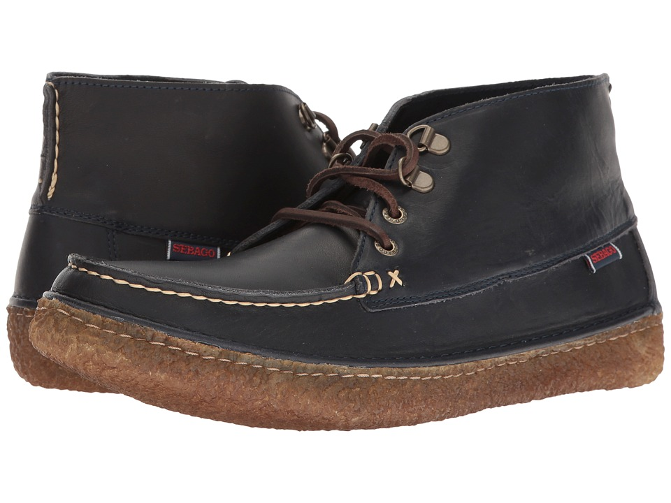 Sebago - Ronan Chukka (Navy Leather) Men's Shoes
