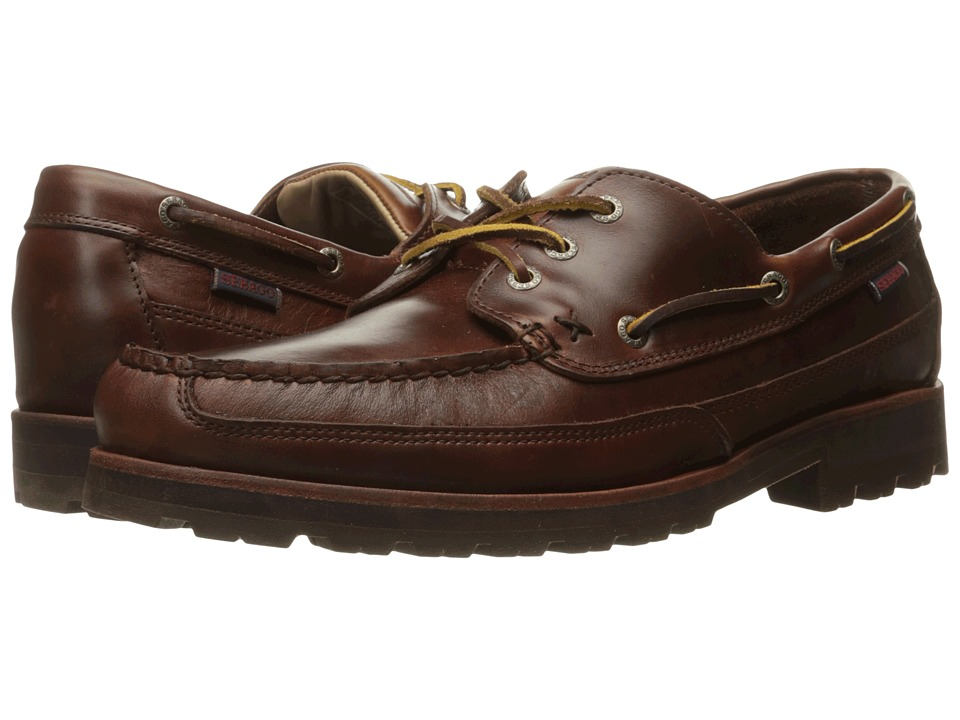 Sebago - Vershire Three Eye (Brown Oiled Waxy Leather) Men's Shoes