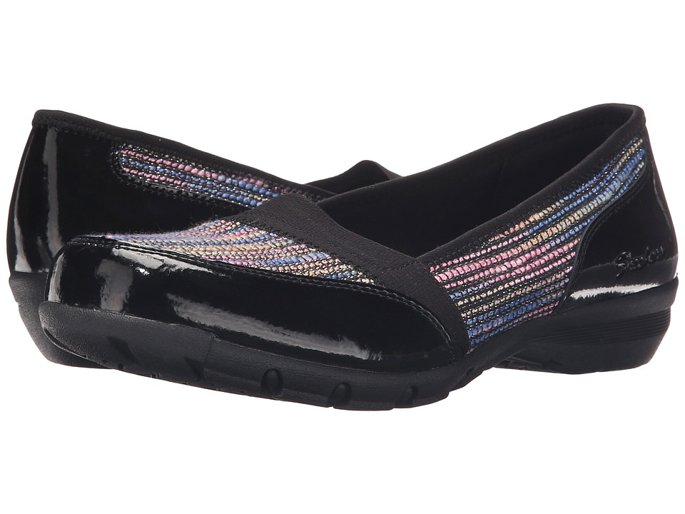 SKECHERS - Career - Couture (Black Patent) Women's Shoes
