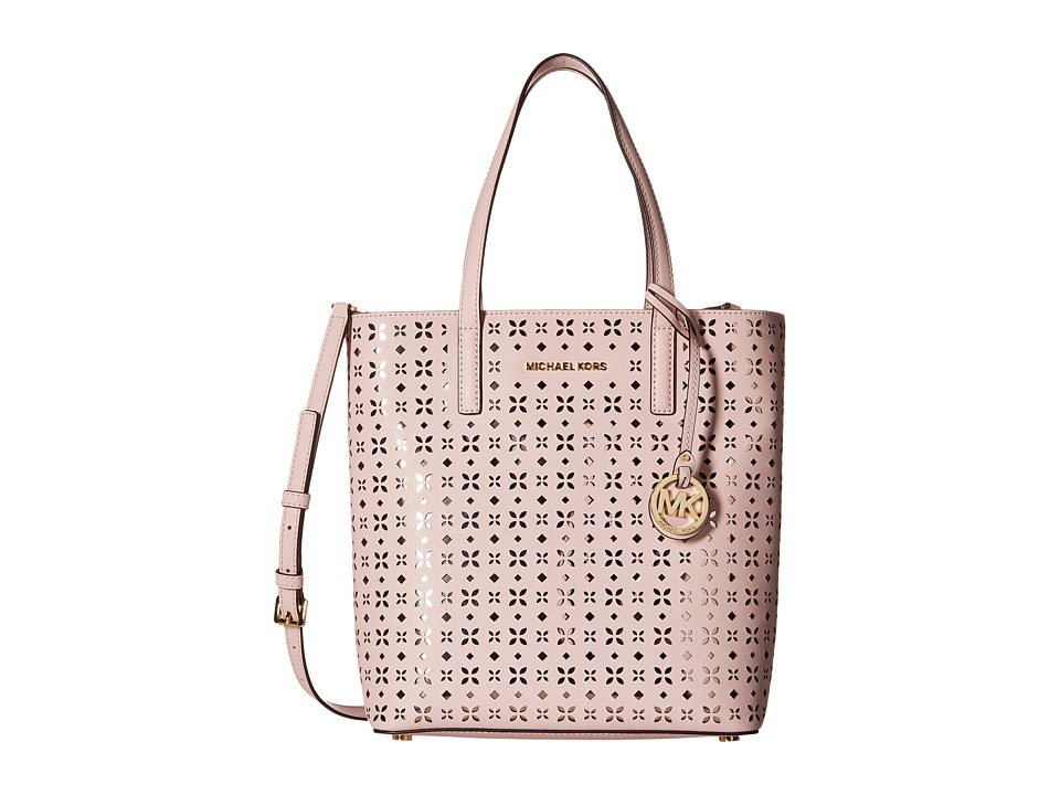 MICHAEL Michael Kors - Hayley Medium North/South Top Zip Tote (Blossom/Ballet) Tote Handbags