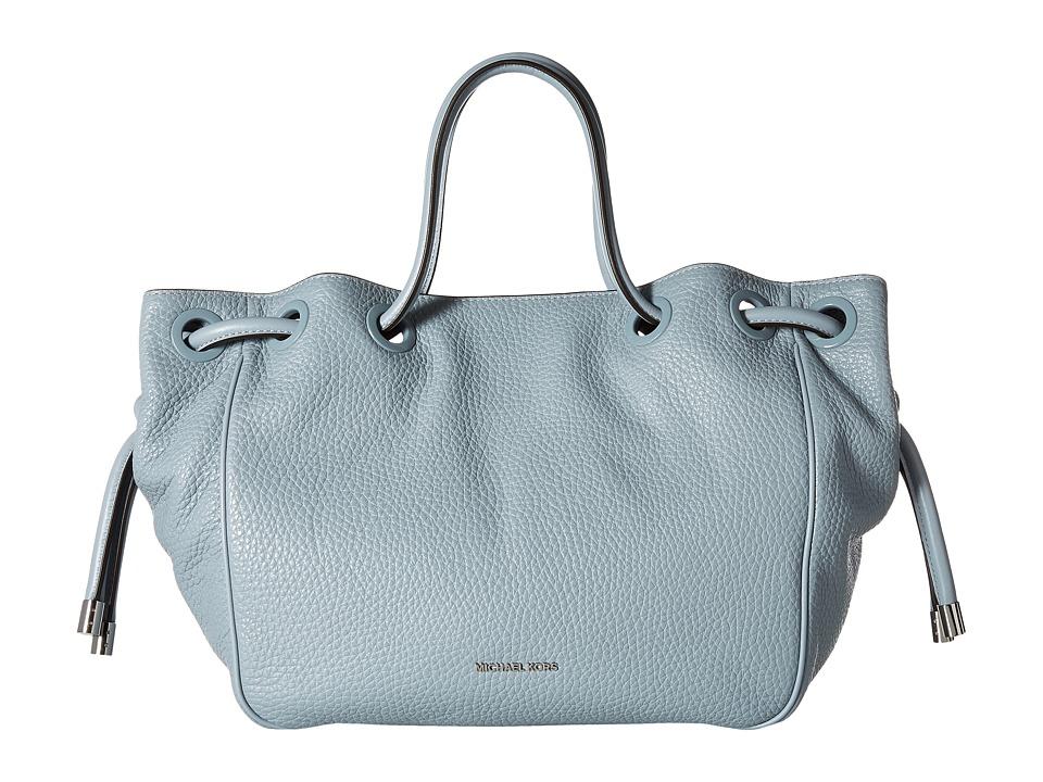 MICHAEL Michael Kors - Dalia Large Shoulder Tote (Dusty Blue) Tote Handbags
