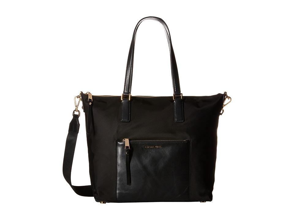 MICHAEL Michael Kors - Ariana Large Tote (Black) Tote Handbags