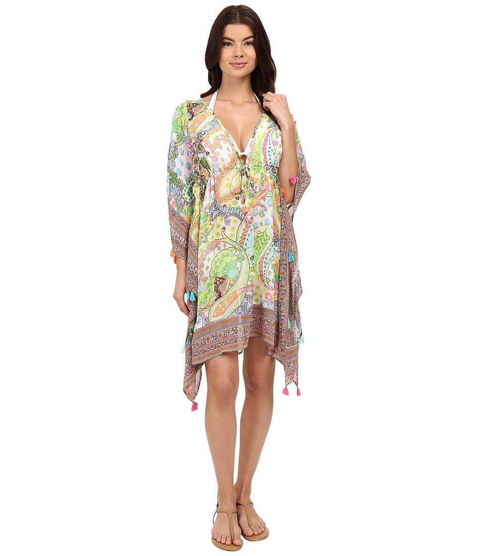 Bleu Rod Beattie - La Vie Boheme Caftan Cover-Up (Multi) Women's Swimwear