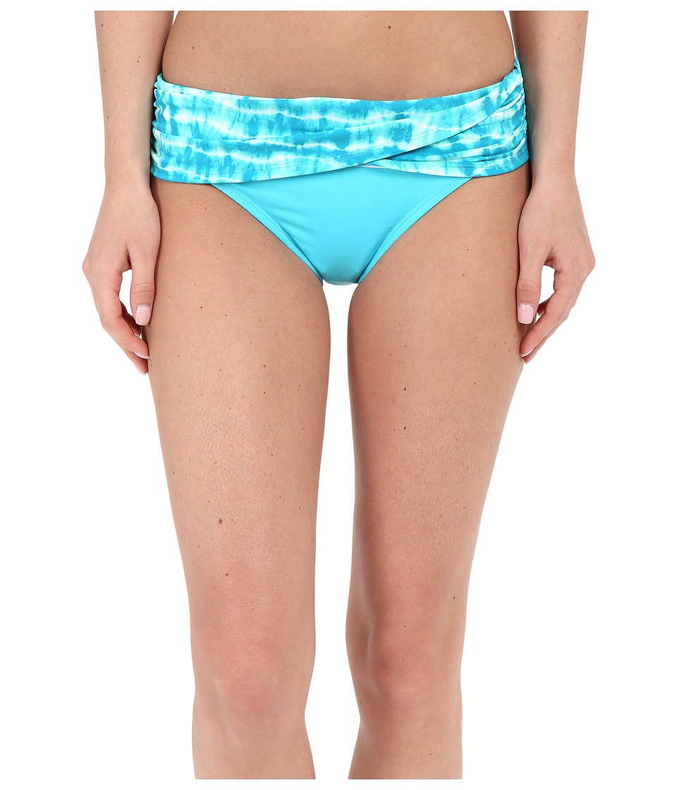 Bleu Rod Beattie - I've Got You Babe Sarong Hipster (Island Blue) Women's Swimwear