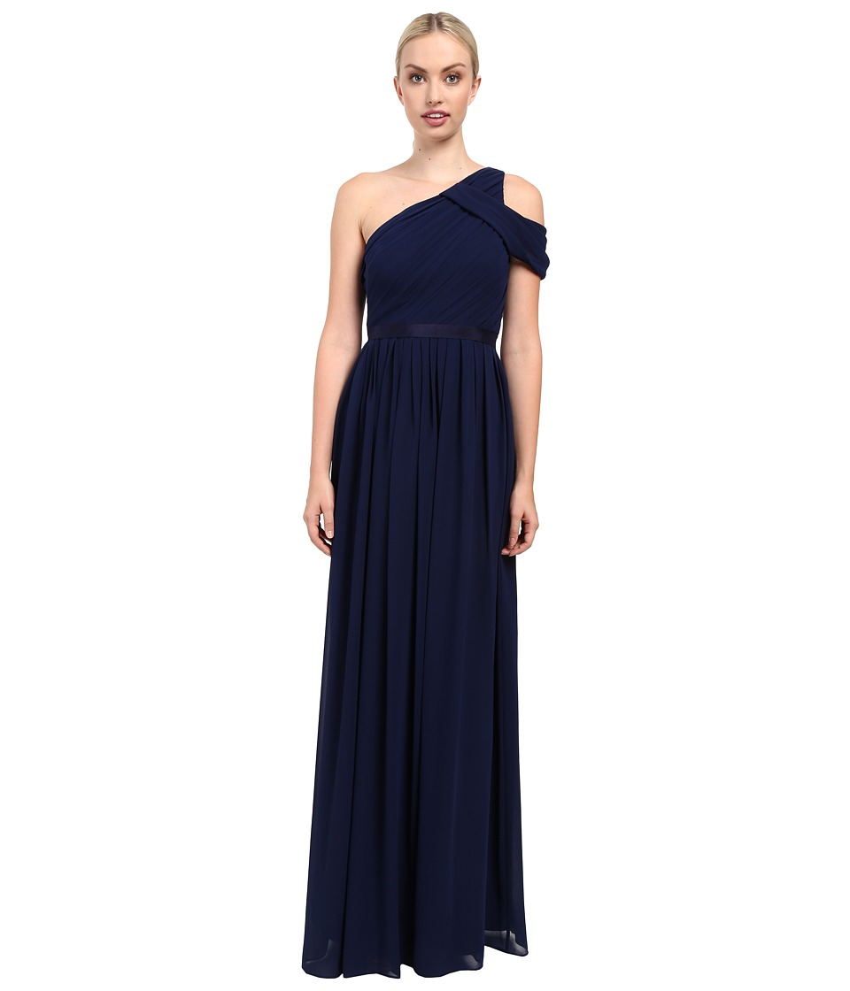 Donna Morgan - Chloe - One Shoulder (Midnight) Women's Dress